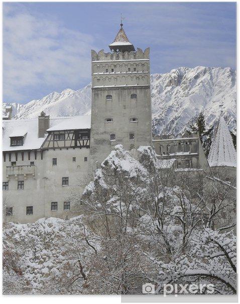Dracula's Bran Castle, Transylvania, Romania Poster - Europe