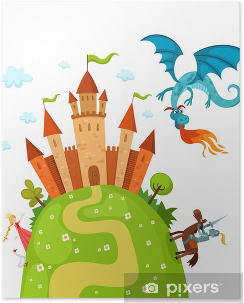 Poster Dragon2 - Destinationer