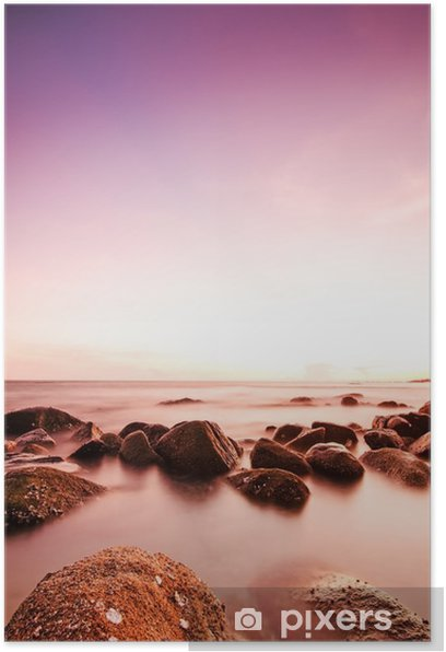 Dramatic sunset Poster - Landscapes