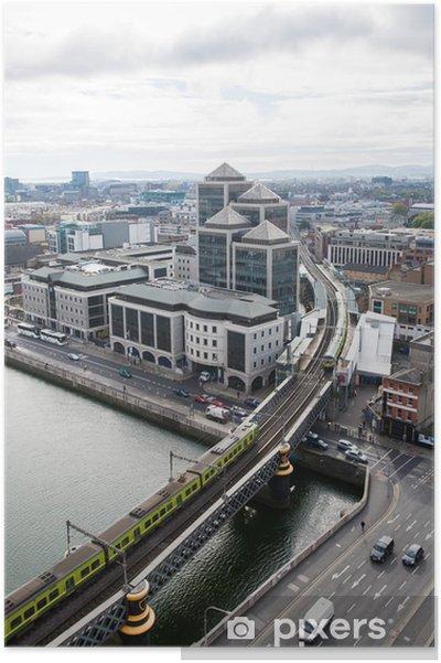 Poster Dublin horizon - Europe