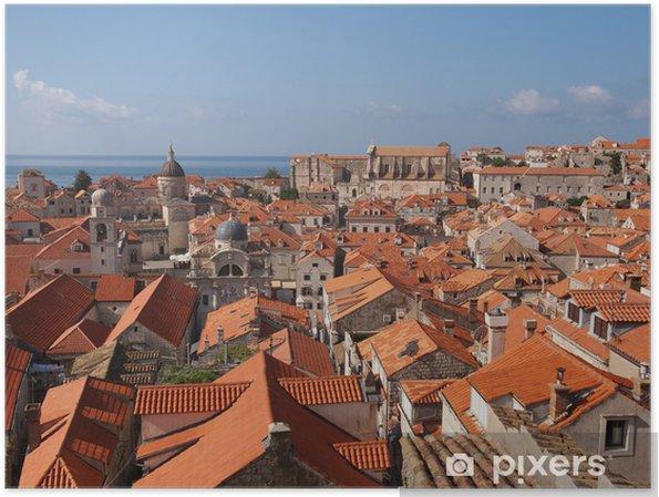 Poster Dubrovnik - Europe