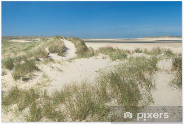 Poster Duinen aan de kust - Vakantie