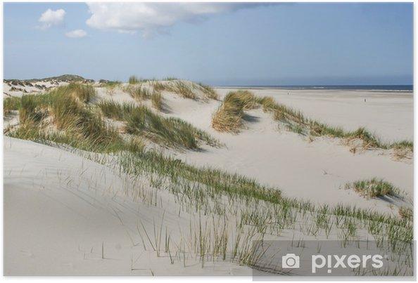 Póster Dunas de arena en la costa de los Países Bajos - Temas