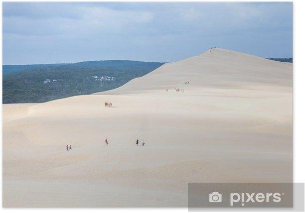 Poster Dune du pilat - Vacances