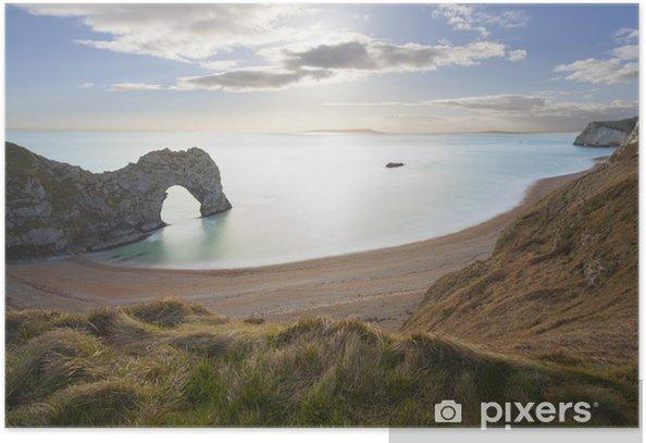 Poster Durdle Door Dorset, côte jurassique, Royaume-Uni. - Europe