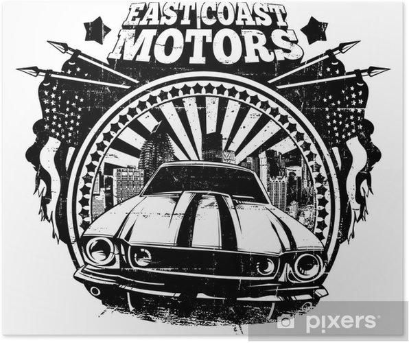 East Coast Motors >> East Coast Motors Poster