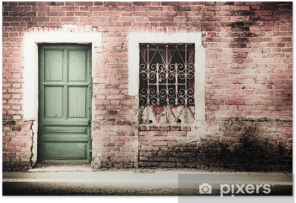 edificio abbandonato Poster - Private Buildings