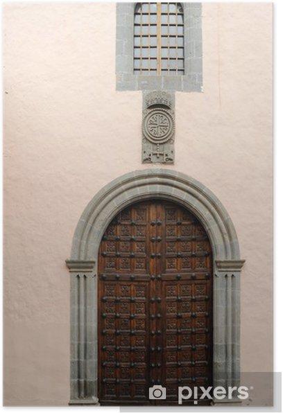 Poster Église Saint-Dominique A La Orotava - Europe