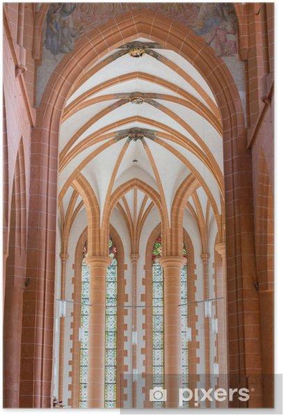 Poster Église Saint-Esprit de Heidelberg en Allemagne - Europe