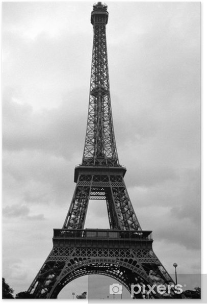 eiffel tower in paris, france Poster - Themes
