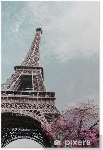 Eiffel tower Poster - Travel
