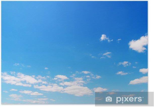 Póster El cielo de fondo - Cielo