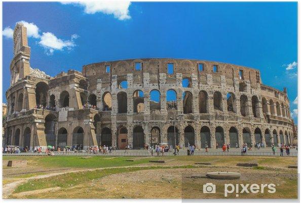 Póster El Coliseo de Roma - Italia - Temas