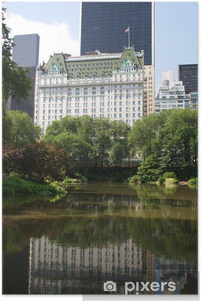 Póster El Grand Hotel Plaza - Ciudades norteamericanas