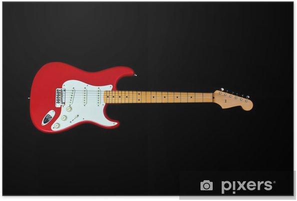 Poster Electric guitar - Thèmes