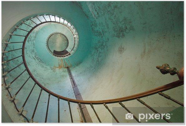 Poster Escalier phare - Thèmes