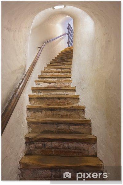 Poster Escaliers dans le château de Kufstein - Autriche - Styles