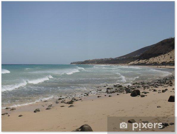 Poster Esquinzo Playa - Fuerteventura - Eau