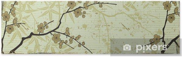 Poster Est fond floral - Arrière plans