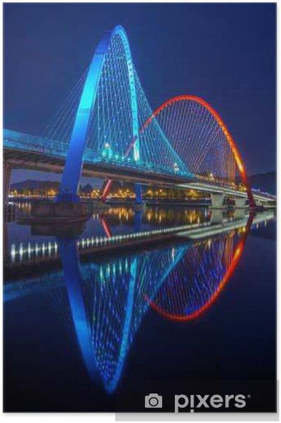 Poster Expo Pont à Daejeon, Corée du Sud. - Voyages