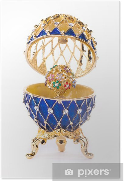 Poster Faberge egg. - Mode