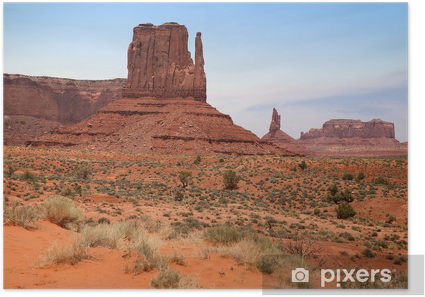 Famous Monument Valley Desert Canyon In Utah Usa Poster Pixers We Live To Change