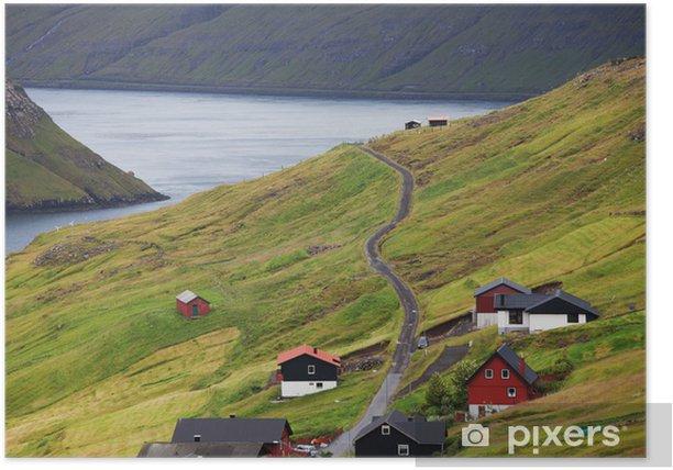 Poster Faroe - Europe