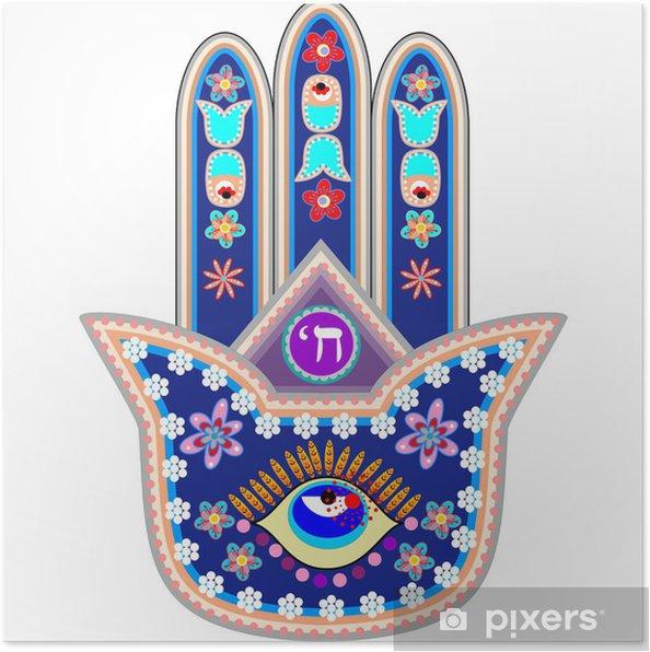 Fatima Hand Poster - Religion