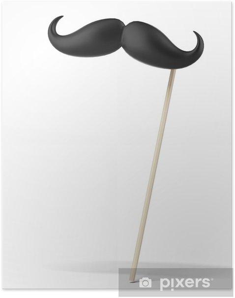 Poster Fausse moustache - Moustache