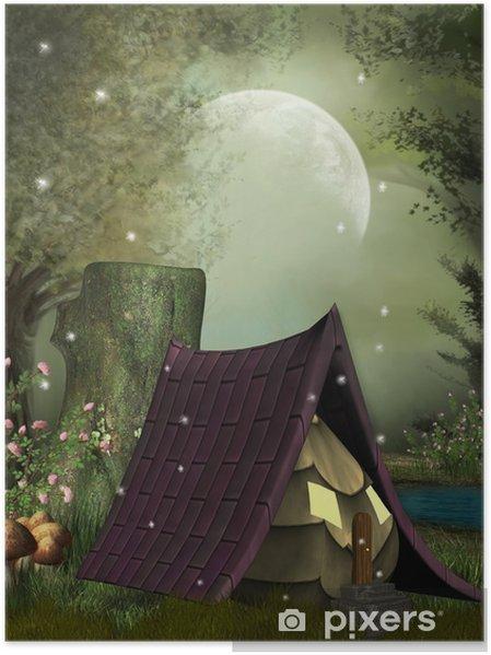 Poster Fée maison - Destin