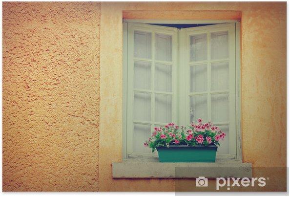Poster Fenêtre - Villes européennes