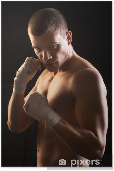 Poster Fighter Homme - Thèmes
