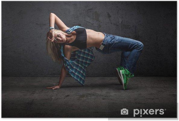 Poster Fille danse hip hop - Thèmes