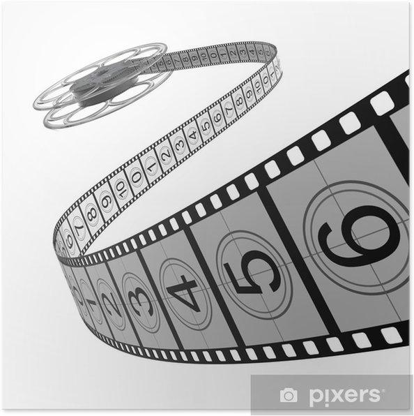 Poster Filmrolletje - filmstroken - Thema's