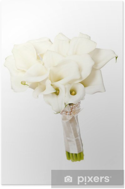 Poster Fleurs calla - Fleurs