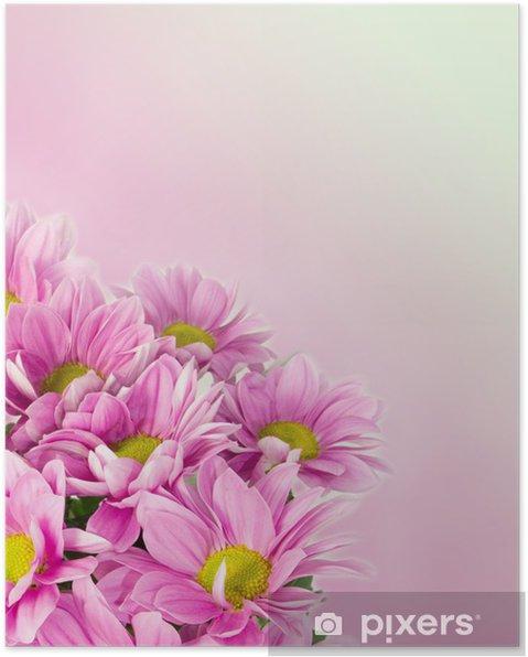 Póster Flor de la margarita deseo - Estilos