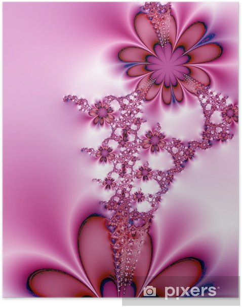 Póster Flores de ensueño - Flores