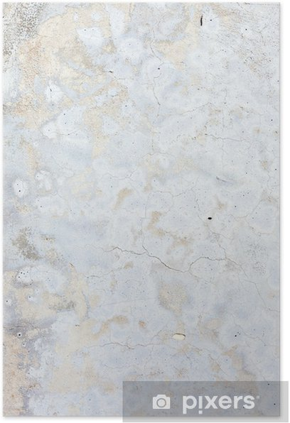 Poster Fond blanc sale béton naturel - Thèmes