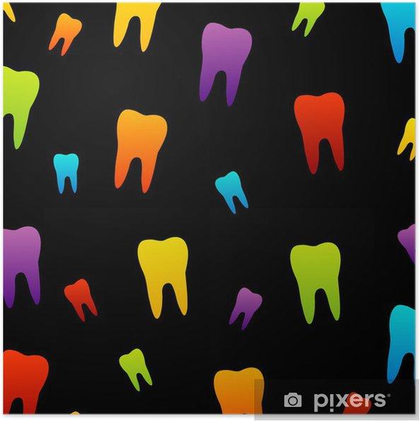 Poster Fond D écran De La Dent Pour Le Dentiste