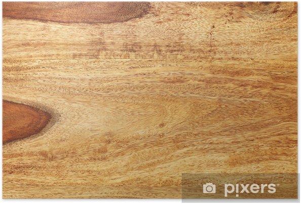 Poster Fond en bois - Textures