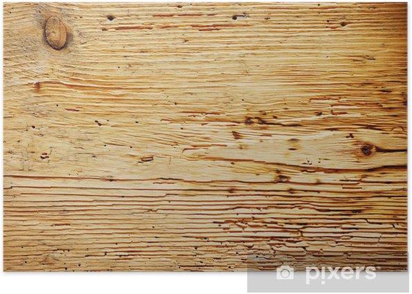 Póster Fondo de madera vieja - Comercios