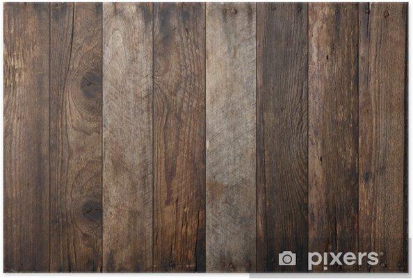Póster Fondo de textura de madera - iStaging