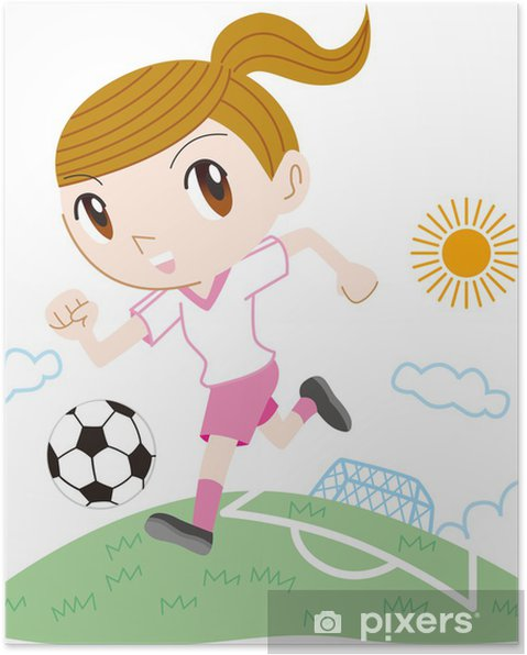Poster Football - Sports individuels