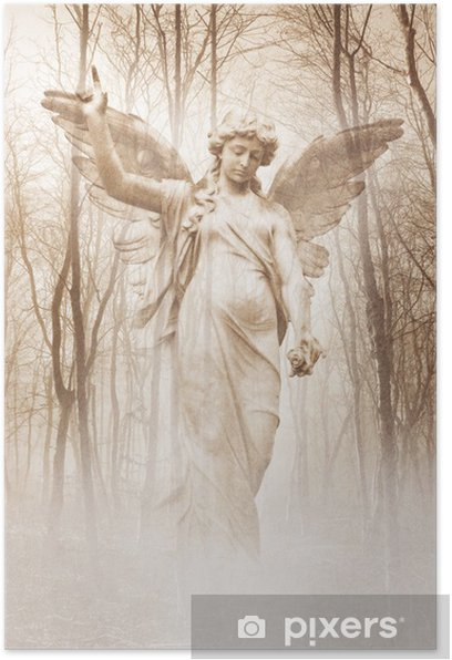Forest Angel Poster - Themes
