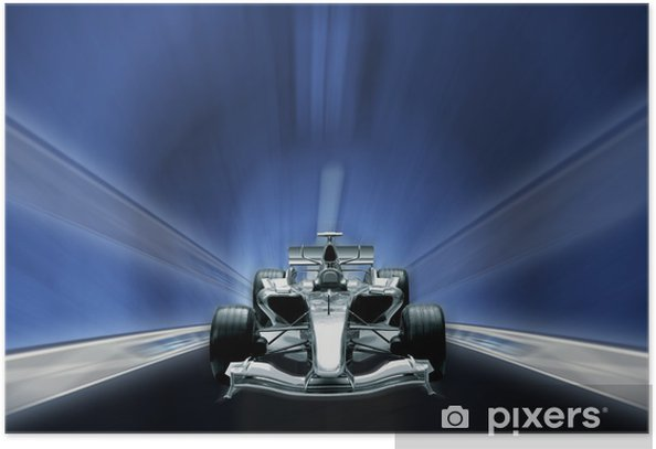formula one, speed concept Poster - Themes