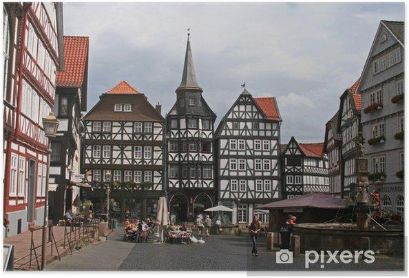 Poster Fritzlar Hesse - Paysages urbains