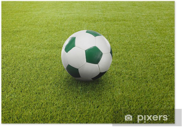 Fussball Poster
