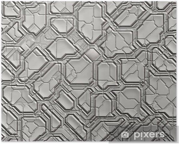 Poster futuristic abstract tech backgrounds - Arrière plans