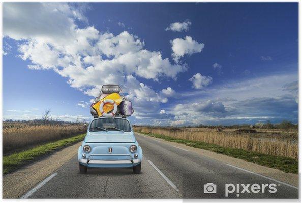 Poster Gaat u op vakantie, On the Road - Thema's