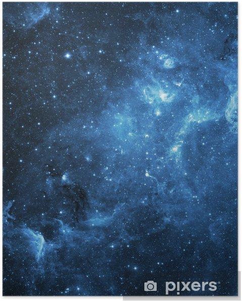 Póster Galaxia (Collage de imágenes de www.nasa.gov) - Universo